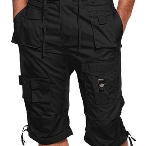NWT Men's black Sean Jean cargo shorts